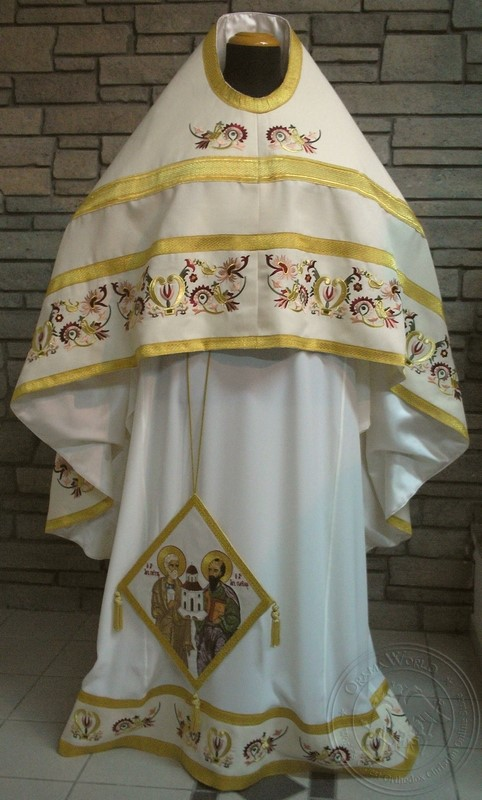 Lyre of David - Hieratical Robe - 5130
