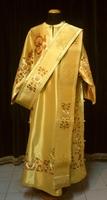 Lyre of David with Polyommata - Deacon Robe