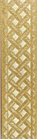 Patterns Design in Gold and Silver Color - Hieratical Galloon