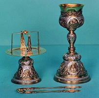 Chalice Set Russian Two Color Design