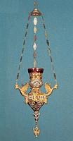 Vigil Candle Russian Dragon Design