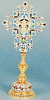 Sanctification Cross with Enamel