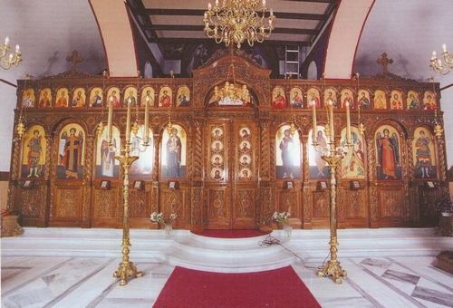 Church Temple Woodcarved Design A
