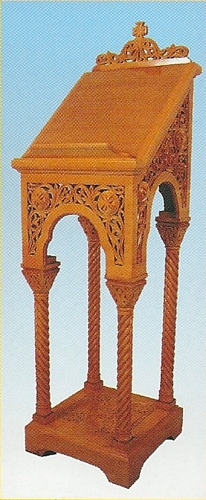 Iconstand Woodcarved Design 5