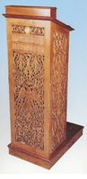 Lectern Woodcarved for Reading