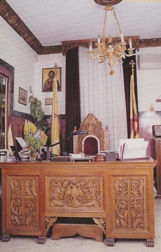 Desk Woodcarved Design B
