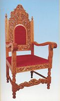 Armchair Woodcarved