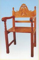 Church Chair Woodcarved Design A