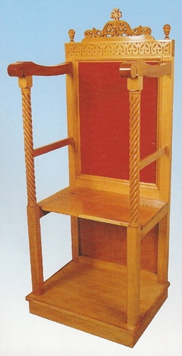 Monastery Chair Wood-carved