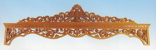 Curtains Woodcarved Design B