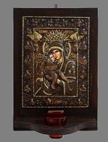 Axion Estin - Wood Carved Iconostasis
