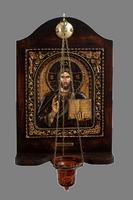 Christ Blessing - Wood Carved Iconostasis