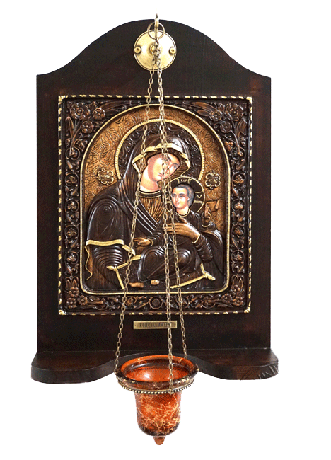 Virgin Mary Venetian - Wood Carved Iconostasis