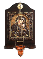 Virgin Mary Venetian - Wood Carved Iconostasis