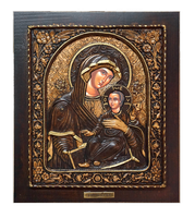 Virgin Mary Venetian - Wood Carved Icon